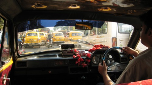 Calcutta Taxi Ride