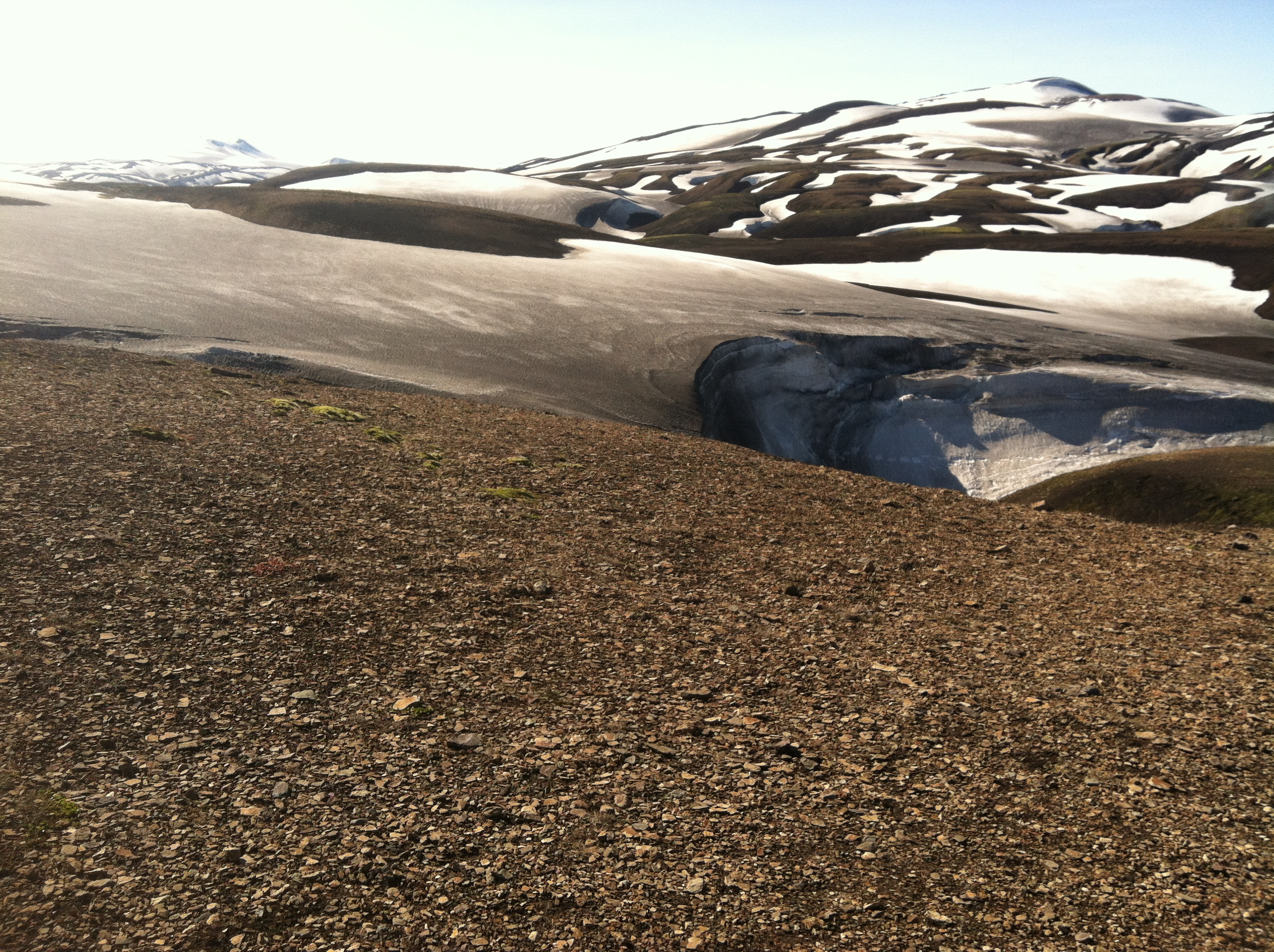 Photo of highlands snowfields