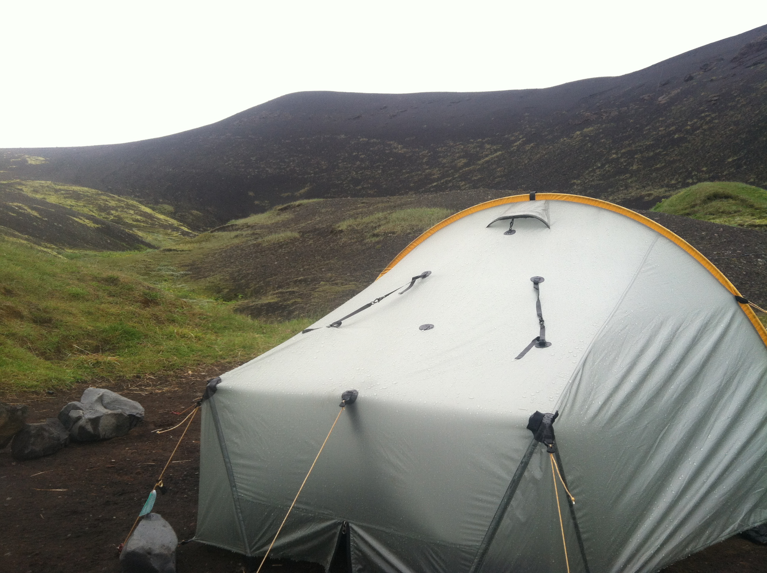Photo of Tarptent Scarp 1 on Laugavegur trek