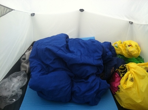 Tarptent Scarp 1 in Iceland